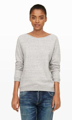 Women | Hartford Typo Sweatshirt | Club Monaco