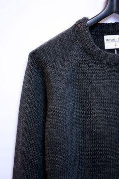 MKI Wool Fisherman Knit Sweater     MKI MIYUKI-ZOKU