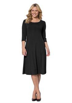 Plus Size Knit Dress
