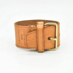Louis Vuitton Belt Bracelet, $320, now featured on Fab.