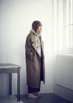 manteau ovoide femme
