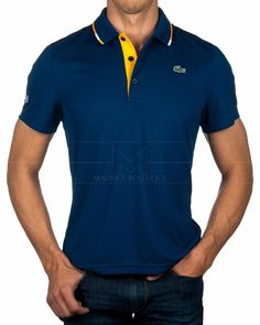 Men's Fashion – How to Nail Office wear – Designer Fashion Tips Lacoste Polo Shirts, Lacoste Sport, Polo Tees, Camisa Polo, Mens Polo T Shirts, Sport Fashion, Mens Fashion, Mein Style, Nike Outfits
