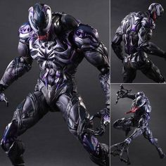 Play Arts Kai Venom Marvel Variant Action Figure Square Enix [PRE-ORDER]
