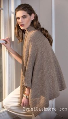 No-dye cashmere has a special place in every Zynni Cashmere Collection.  It evokes the purity of nature, creating soft and cozy loungewear garments for every woman to enjoy in the comfort of her own home.