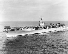 04 Oct 43: US aircraft carrier USS RANGER launches twenty SBD Dauntless dive bombers and an escort of eight Wildcats, attacking two German convoys at Bodo, Norway, sinking 5, in the war's only US carrier action above the Arctic Circle. The German press had reported the Ranger sunk by a u-boat back in April and its commander had been personally decorated by Hitler himself. Oops. More: http://scanningwwii.com/a?d=1004&s=431004 #WWII