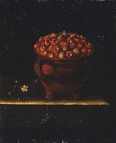 Adriaen Coorte    Clay with Wild Strawberries    1697