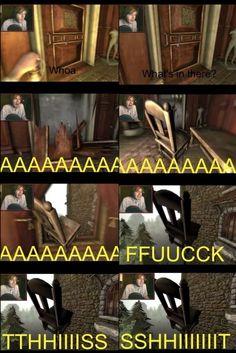 Pewdiepie :p. I remember this episode. ^^^ This always makes me laugh super hard.