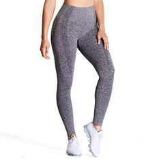 Discounted Aoxjox Women's High Waist Workout Gym Vital Seamless Leggings Yoga Pants (Charcoal Grey Marl, X-Small) #AoxjoxWomen'sHighWaistWorkoutGymVitalSeamlessLeggingsYogaPants(CharcoalGreyMarl #X-Small) Gym Leggings, Gym Pants, Yoga Pants, Workout Leggings, Waist Workout, Seamless Leggings, Workout For Flat Stomach, Womens Workout Outfits, Gym Workouts