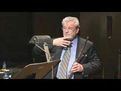 James Galway on the subject of vibrato