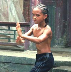 Jaden Smith in the 2010 Karate Kid