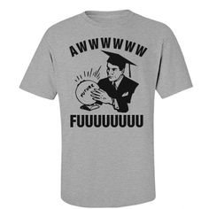 Graduate's Cloudy Future Funny T-Shirt. Funny Graduation Gifts for high school graduates and college grads!