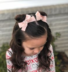 25 Ideal Hairstyles for Girls That They Can Wear at School – Bun Hairstyles School Picture Hairstyles, Kids School Hairstyles, Easy Toddler Hairstyles, Easy Little Girl Hairstyles, Girls Hairdos, Cute Hairstyles For Kids, Baby Girl Hairstyles, Hairstyle Ideas, Toddler Hair Dos