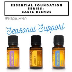 My essential foundation series is a great way to learn how to use DoTERRA's top 10 oils as part of your daily routine.  Spring is in the air-- the flowers are blooming, the weather is changing, the winds are blowing. Lavender, Lemon, and Peppermint make an awesome blend to help with anyone experiencing seasonal threats. They help to support the respiratory system by promoting clear breathing and healthy respiratory function. This blend can be diffused, applied topically, or be taken…