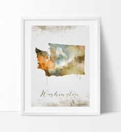 Washington dc map, Washington dc wall art, washington dc art, watercolor painting, washington dc print, map art, home decor, wall art (292)