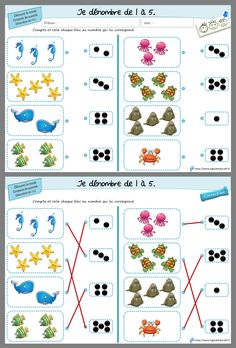 Preschool Math Games, Preschool Worksheets, Toddler Activities, Games For Kids, Teaching Kids, Montessori, Alphabet, Bullet Journal, Ms