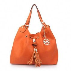 130742eddb88 Michael Kors Camden Drawstring Large Orange Shoulder Bags  #WomensShoulderbags Cheap Michael Kors, Michael Kors