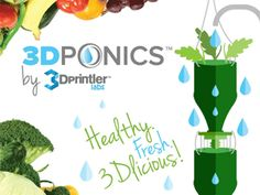 Learn more about our July 2014 launch on Kickstarter via Startup Ottawa. #Kickstarter #3dprinting #hydroponics