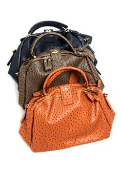 Ostrich Big Shoulder Bag  $39