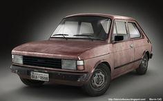 Old Fiat 147