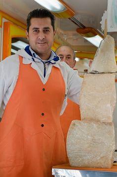 Cheese market Orvieto Italy
