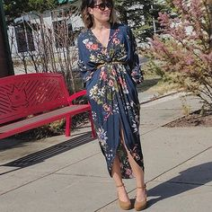 @fashionablereststop has a flaunt-worthy floral frock. #LoveMarshalls