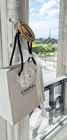 "f7a0ed5294c2 ABBY MATSES • BOSTON on Instagram: ""What's on your Chanel wishlist right  now?! 🛍✨ // my Parisian balcony & views of the Eiffel Tower & gifts from  Chanel ..."