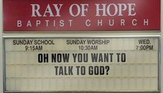 12 Funny Church Signs From This Week Hyun Kyung, It's Over Now, Lying Game, The Wicked The Divine, Carrie White, Sunday Worship, Church Signs, The Adventure Zone, It's Always Sunny