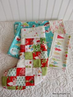 A Quilting Life - a quilt blog: More Christmas Gift Sewing