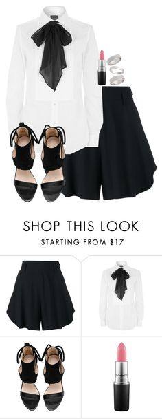 """""""Untitled #1750"""" by itsmeischoice on Polyvore featuring Chloé, Polo Ralph Lauren, MAC Cosmetics and Topshop"""