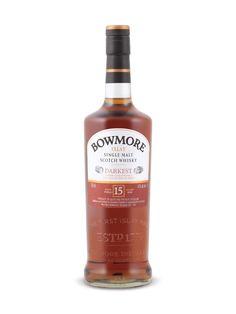Bowmore Darkest 15 Years Old Islay Single Malt Scotch Whisky