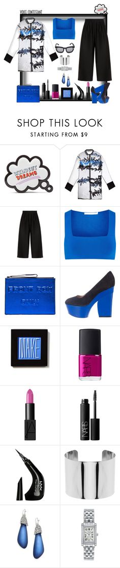 """Oh my! Standing ovation!"" by ritva-harjula ❤ liked on Polyvore featuring Sophia Webster, Emporio Armani, Alexander Wang, Boyy, CÉLINE, Make, NARS Cosmetics, NYX, Mikey and Alexis Bittar"