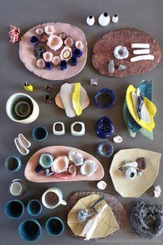 curious ceramics by Anja de Klerk Sugar, Cookies, Desserts, Food, Biscuits, Deserts, Cookie Recipes, Dessert, Meals