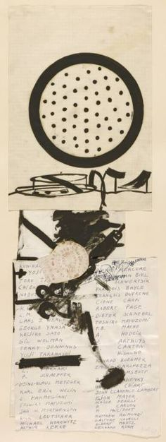 Joseph Beuys, 'Fluxus-Name List' 1963