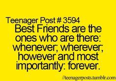 So true! I wouldnt trade my bestfriends for anybody! :)