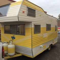 1962 Terry Vintage Trailer