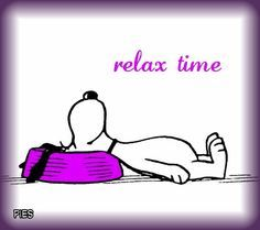Relax time!