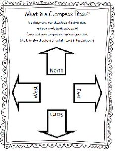 Map Skills Activity - Compass Rose Freebie! - Re-pinned by @PediaStaff – Please Visit http://ht.ly/63sNt for all our pediatric therapy pins