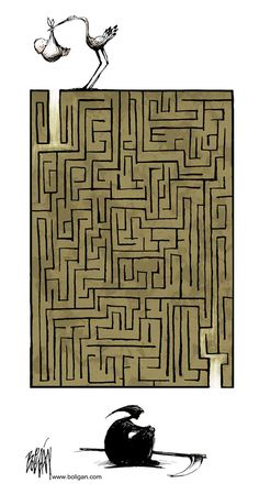 Funny pictures about The Great Maze Of Life. Oh, and cool pics about The Great Maze Of Life. Also, The Great Maze Of Life photos. Satire, Satirical Illustrations, Labrynth, Looking For Alaska, Finding Alaska, Arte Obscura, Life And Death, Oeuvre D'art, Maze