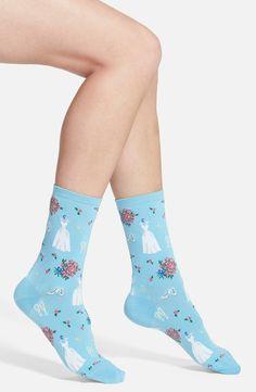'Wedding Dresses' Crew Socks (3 for $15)