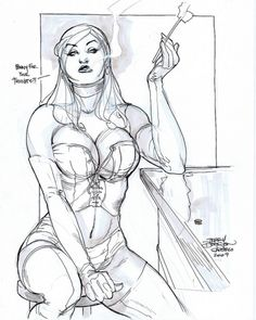 emma frost. Terry Dodson
