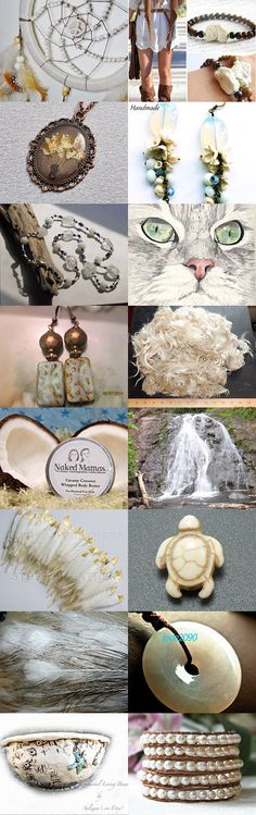 Naturally White~STATTEAM Spotlight~DreamAlchemies  by Kathy Carroll on Etsy--Pinned with TreasuryPin.com #naturalgifts