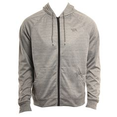 RVCA Mens Sweatshirt Therman Zip
