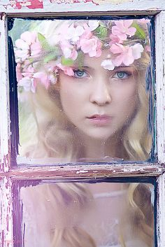 ....mysterious...Through the Glass Window by Emily Soto, via Flickr