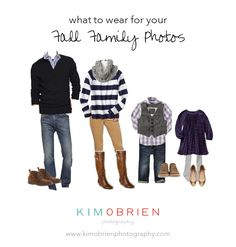 what to wear for your fall family photo session with links to buy the outfits