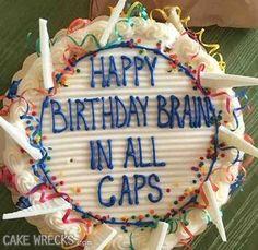 CAKES TO CAP IT OFF | Cake Wrecks | Bloglovin