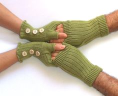 likemary Fingerless Gloves Long Arm Warmers for Winter 100/% Merino Pure Wool Hand Knitted Ethical Gift