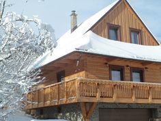 Drevenica Na Potoku, Matiašovce Cabin, House Styles, Home Decor, Cabins, Cottage, Interior Design, Home Interior Design, Wooden Houses, Home Decoration