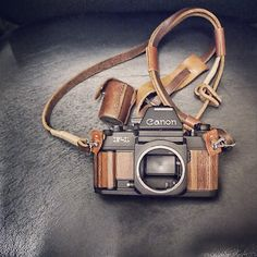 Canon F1 in Wood Interpretation    http://scription.typepad.com/blog/2012/11/canon-f1-in-wood-interpretation.html