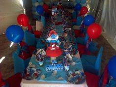 KIDS PARTY PACKAGES:The Package includes :Draped gazebo Kiddies tables, chairs, table cloths ,runners , overlays Chair covers and chair tie backsBalloon Arch Themed Photo Board depending on theme Birthday cake 12 matching designer cup cakes Themed Chocolate LolliesThemed party plates, cups, serviettes, party hatsPolystyrene Name centre pieceParty Buckets - with sticker with childs photo, thank you message and theme picture.Sweets, chips and marshmallows for the table.baloons themed prop ... Buy And Sell Cars, Party Themes, Party Ideas, Bubble Machine, Chair Ties, Party Catering, Thank You Messages, Party Plates, Candy Buffet