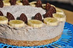 Cheesecake fara coacere cu banane   Retete culinare cu Laura Sava
